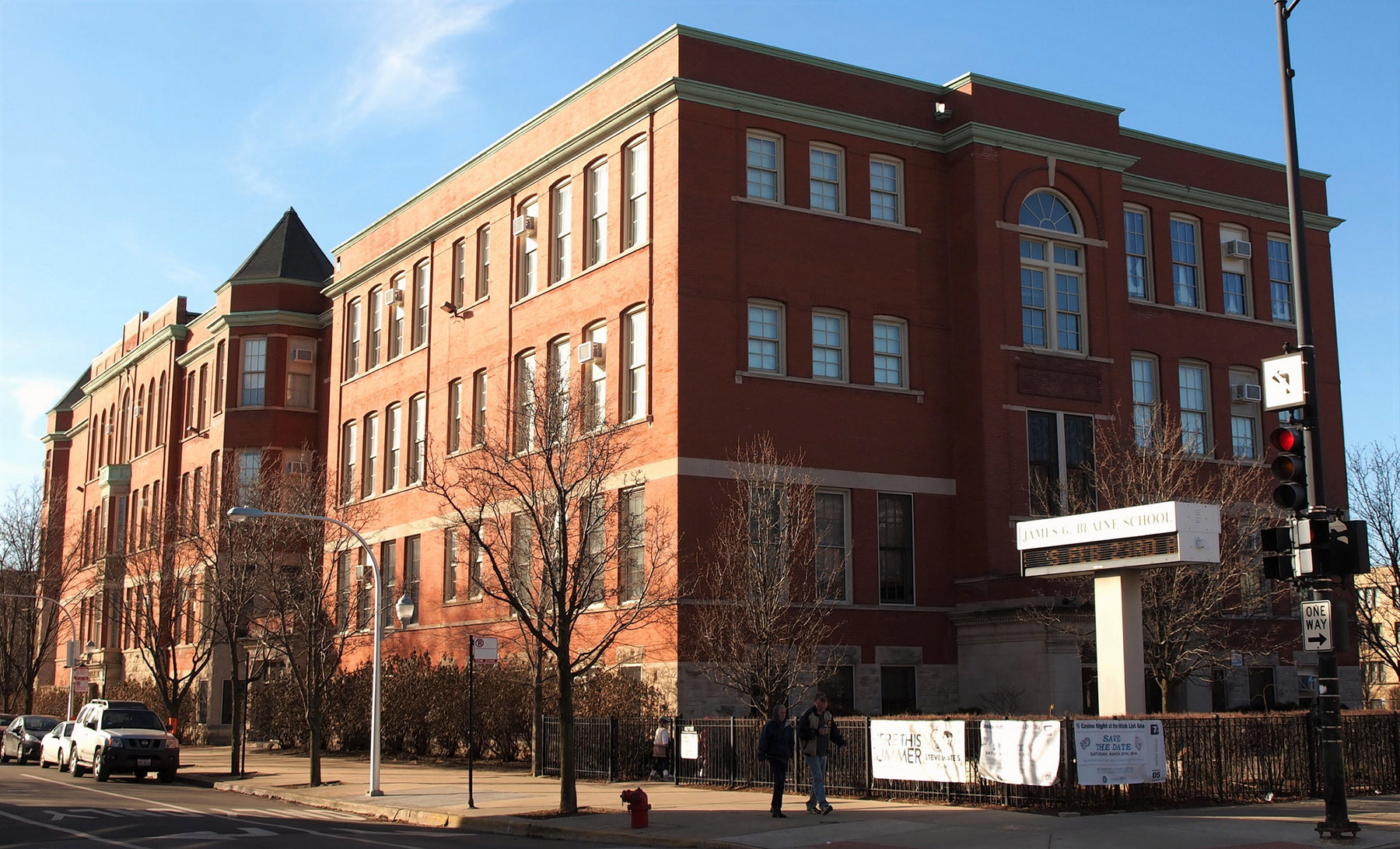 featured image James G Blaine Elementary School