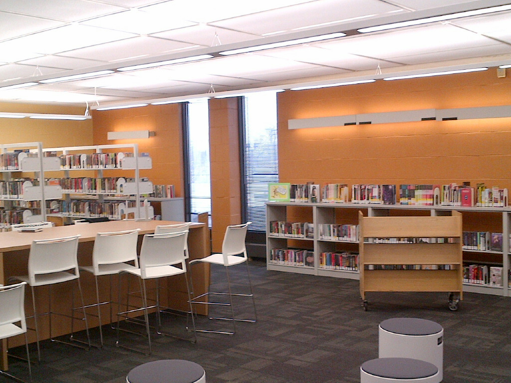 featured image Woodson Regional Library YOUmedia Renovations