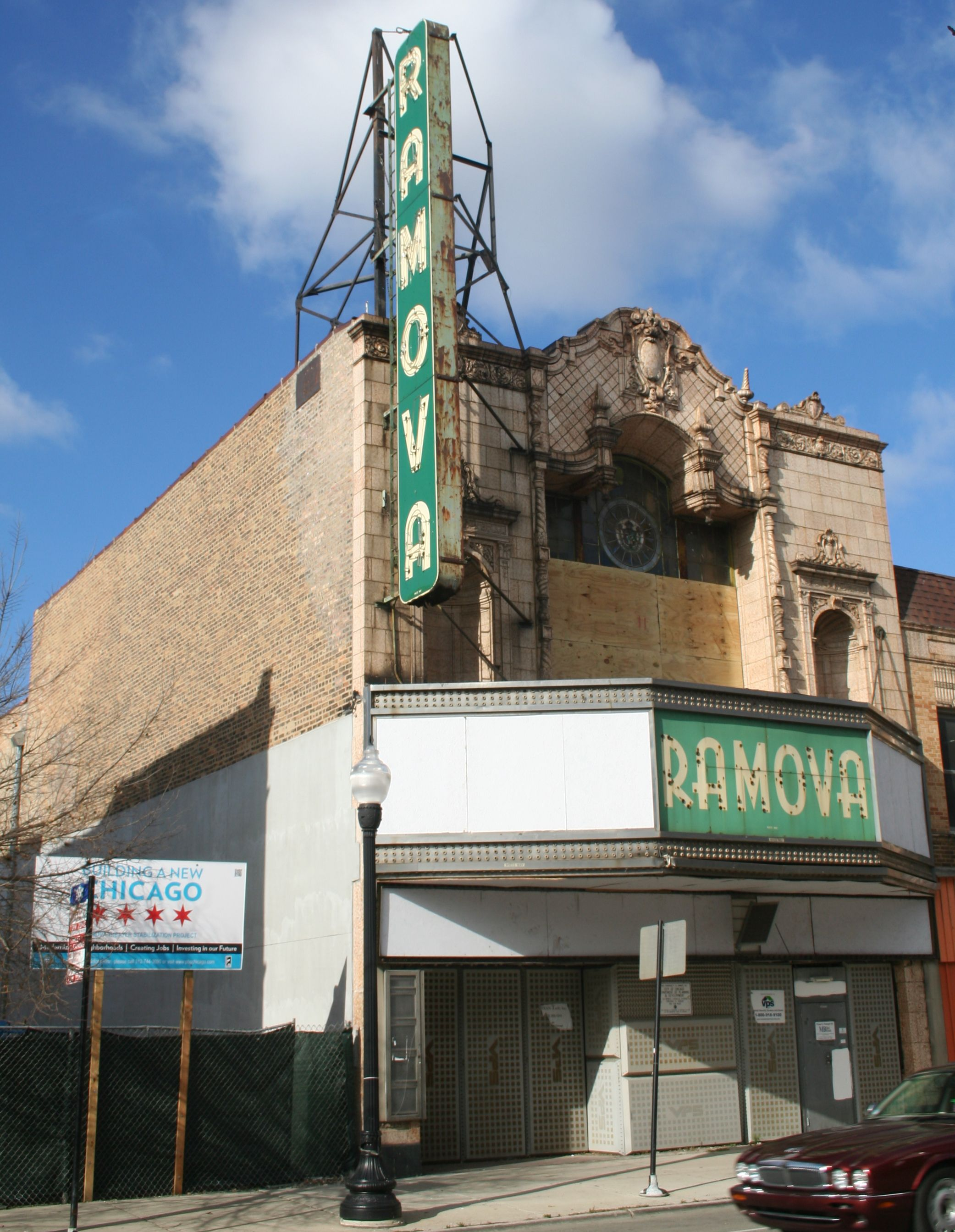 featured image Ramova Theater Stabilization Project
