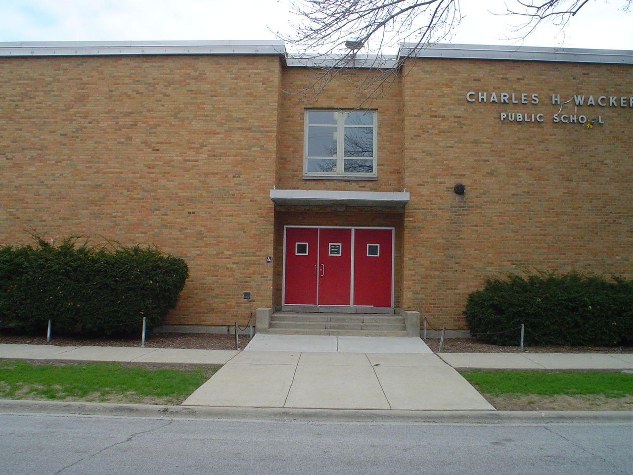 featured image Charles H. Wacker School