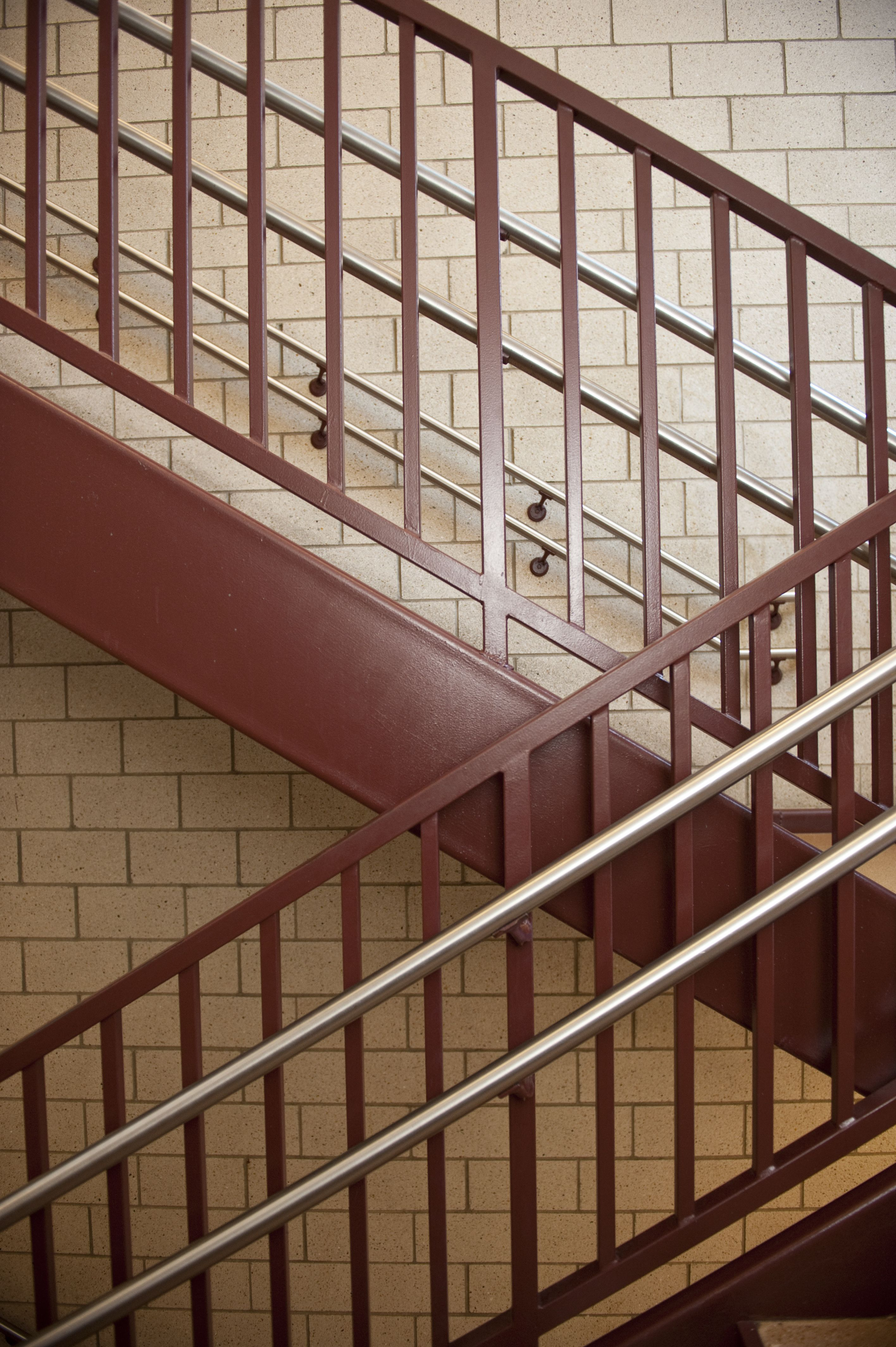 featured image Ella Flagg Young Elementary School Stairwell